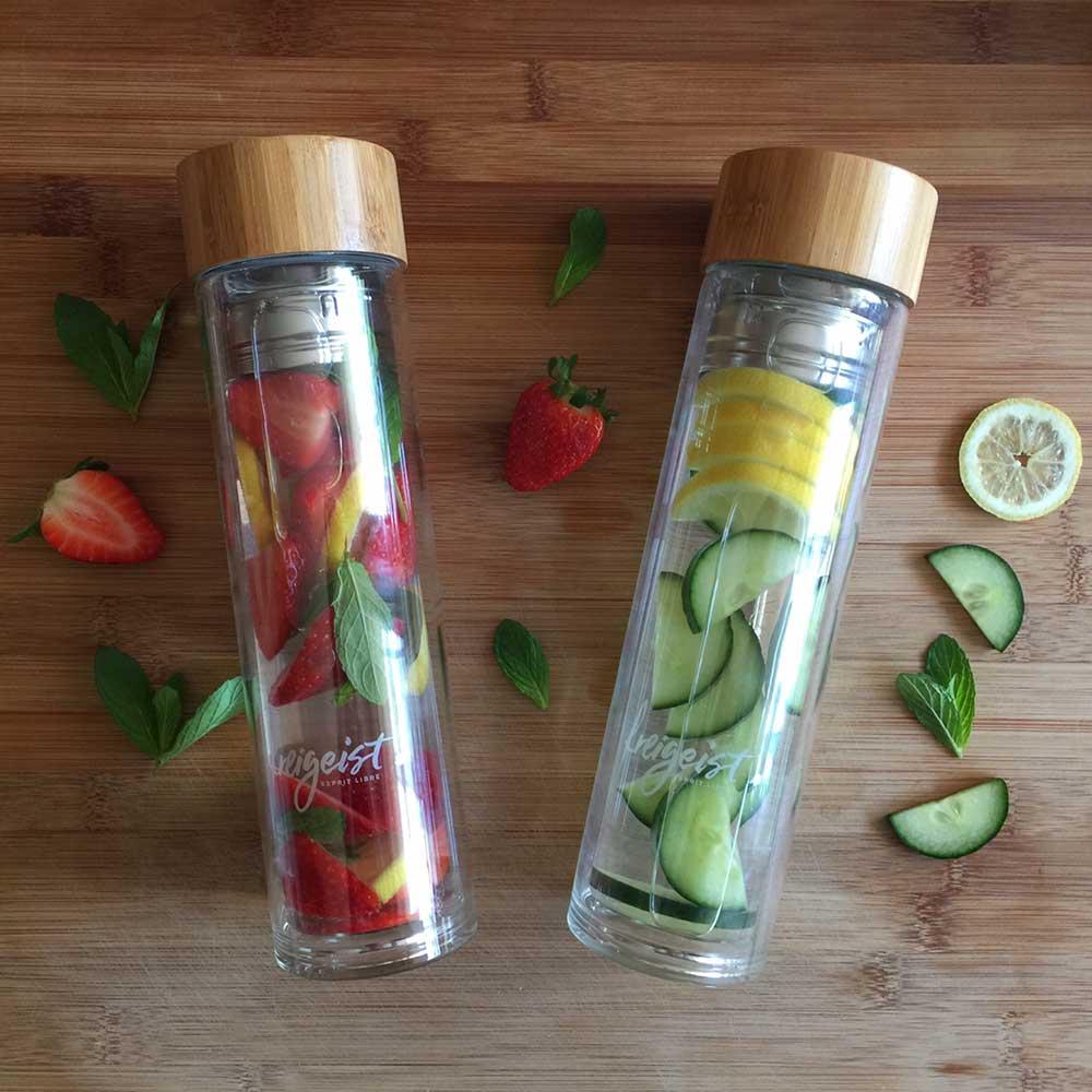Wasser Rezepte, die es in sich haben: Infused Water selber machen